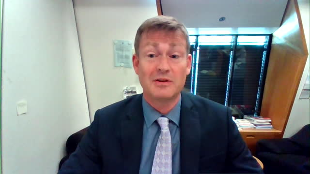 """interview justin madders mp, labour, about dominic cummings tell all interview """"it feeds into the feeling that boris johnson hasn't taken pandemic as... - """"bbc news"""" stock videos & royalty-free footage"""