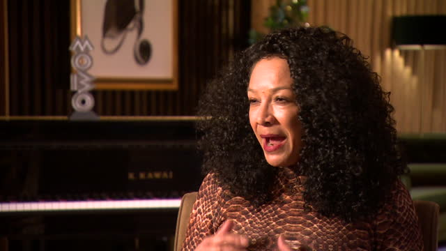"""interview kanya king, mobo awards founder, about the ceremony during the coronavirus pandemic year """"it is about using the power of black culture to... - 映像技法点の映像素材/bロール"""