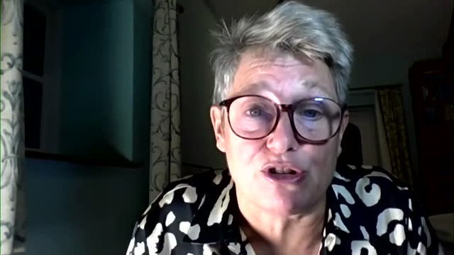 interview kate bingham, former chair uk government vaccine taskforce, about trials showing high efficacy of the novavax vaccine against the uk and... - satisfaction stock videos & royalty-free footage