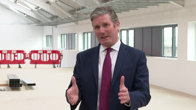 """interview keir starmer, labour leader, about astrazeneca vaccine after rare side effect of blood clots was found """"it's important we ensure there is... - confidence stock videos & royalty-free footage"""