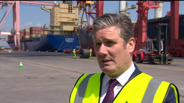"""interview keir starmer, labour leader, about how the govenment should answer questions on decisions made during the coronavirus pandemic """"bad... - decisions stock videos & royalty-free footage"""
