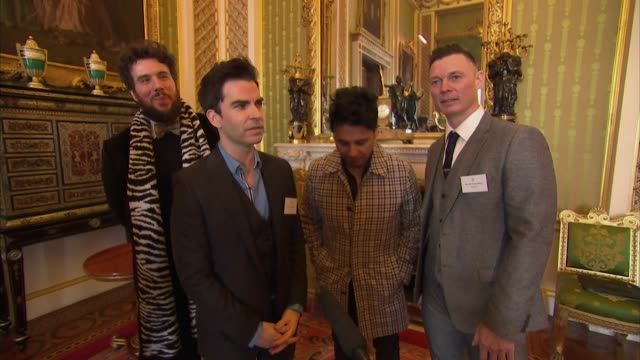 interview kelly jones stereophonics talks about how the princes trust helped them buy speakers at the beginning of their career - concepts stock videos & royalty-free footage