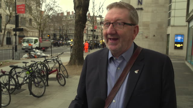 Interview Len McCluskey General Secretary Unite the Union gives his reaction to 7 MP's splitting from the Labour party and forming The Independent...