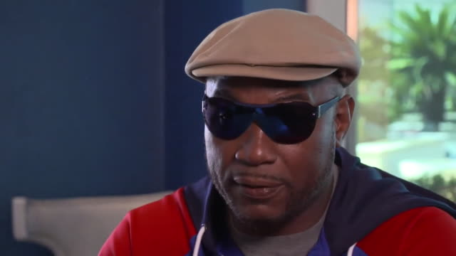 interview lennox lewis former world heavyweight champion about the tyson fury and deontay wilder boxing rematch in las vegas - nevada stock videos & royalty-free footage