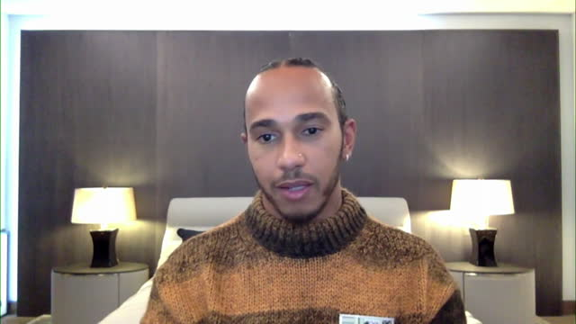 interview lewis hamilton, formula one world champion, after winning seven world titles and how his family are more important than any other form of... - formula one racing stock videos & royalty-free footage