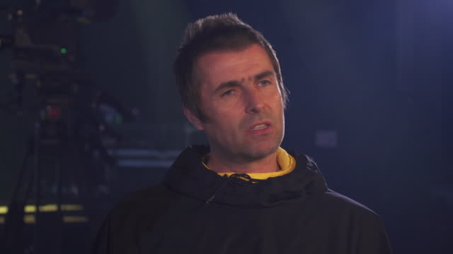 Interview Liam Gallagher about filming the video to new single Shockwave in Budapest