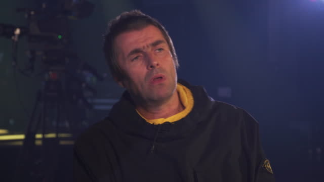 Interview Liam Gallagher about his new album 'Why Me Why Not'