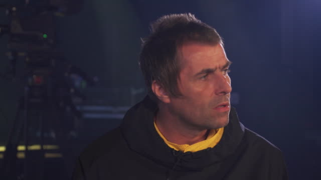 Interview Liam Gallagher about his new single Shockwave and who it is aimed at