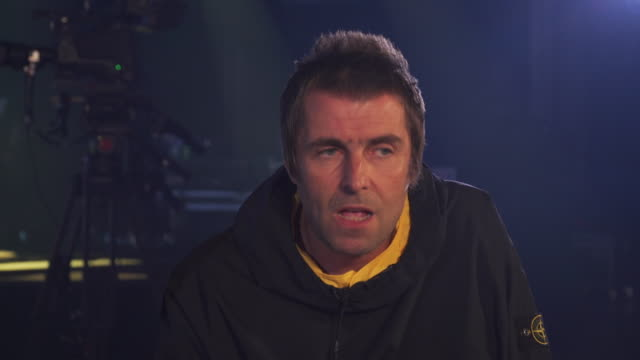 vidéos et rushes de interview liam gallagher, about his relationship with his brother noel and the oasis split - rock moderne