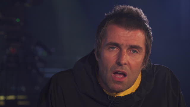 interview liam gallagher about politicians doing drugs - manchester england stock videos & royalty-free footage
