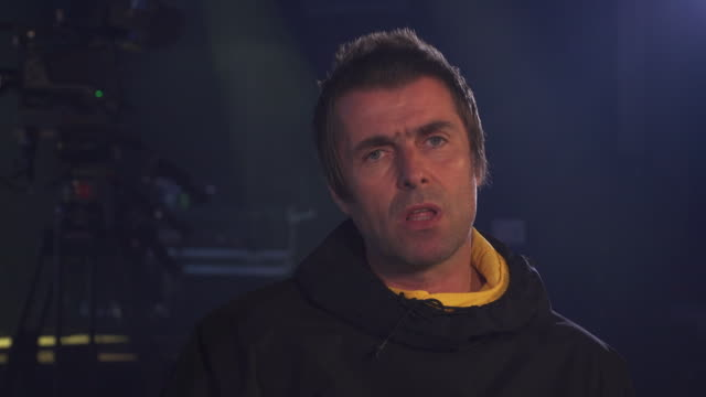 interview liam gallagher on running and why he doesn't want to run a marathon - jogging stock videos & royalty-free footage