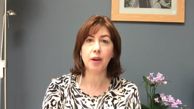 "interview lucy powell mp, shadow business minister, about wearing face coverings in shops due to coronavirus pandemic ""we need clarity of message"" - transparent stock videos & royalty-free footage"