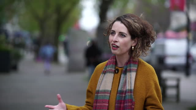 interview luisa porritt, liberal democrat london mayoral candidate, about what she will do if she wins the election, regarding empty space brought on... - teleworking stock videos & royalty-free footage