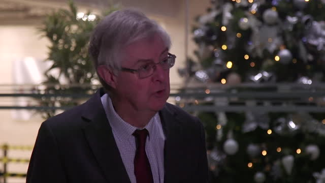 "interview mark drakeford, first minister of wales, about everyone being responsible for the rise in coronavirus cases in wales ""the fate of... - responsibility stock videos & royalty-free footage"