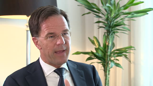 Interview Mark Rutte Dutch Prime Minister about the effect of Brexit on the UK The impact will be huge and many people underestimate it