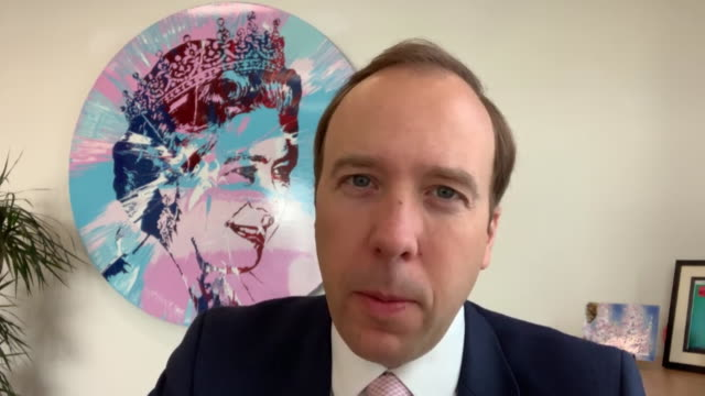 interview matt hancock mp health secretary about the coronavirus test and trace system we are doing this on a voluntary basis because we think the... - shape stock videos & royalty-free footage