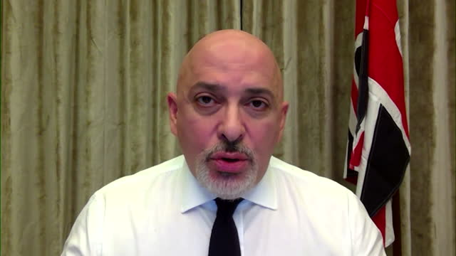 interview nadhim zahawi, vaccine minister, is confident at receiving expected supplies of pfizer vaccine and astrazeneca covid-19 vaccine, despite... - confidence stock videos & royalty-free footage