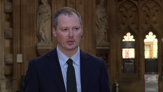 "interview neil o'brien mp, conservative, about foreign aid cuts in the spending review ""this is not something anyone wanted to do but the nhs and... - cutting stock videos & royalty-free footage"