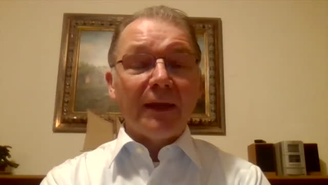 """interview philip lambert mep, about eu seeing uk as an untrustworthy negotiating partner, after uk pushes back deadline of new checks and paperwork... - """"bbc news"""" stock videos & royalty-free footage"""