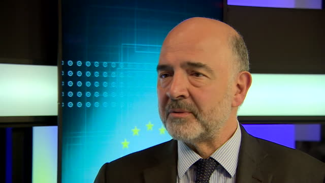 Interview Pierre Moscovici European Commissioner for the Economy about Eurosceptic UK MEP's I don't like them it's not my cup of tea