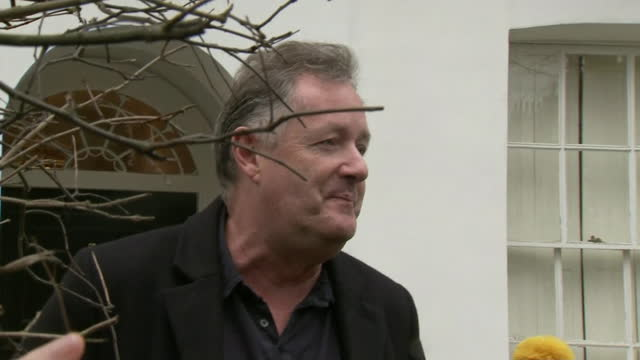 interview piers morgan, criticises meghan duchess of sussex for her interview with oprah winfrey, the day after he resigned from good morning britain... - interview stock videos & royalty-free footage
