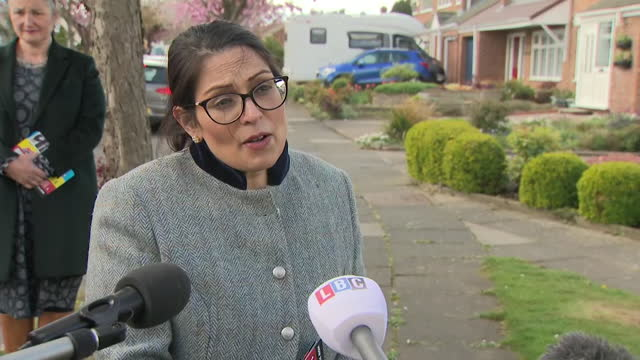 interview priti patel, home secretary, about the new fire safety law aimed at making buildings safer following the grenfell tower fire, but doesn't... - skyscraper stock videos & royalty-free footage
