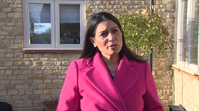 interview priti patel home secretary after meeting harry dunn's family it was a nice opportunity to hear from them and to reassure them - home secretary stock videos & royalty-free footage