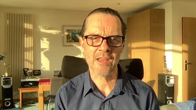 interview professor adam finn, jcvi, about how people still need to be careful as coronavirus lockdown eases, and to make use of the free tests - dependency stock videos & royalty-free footage