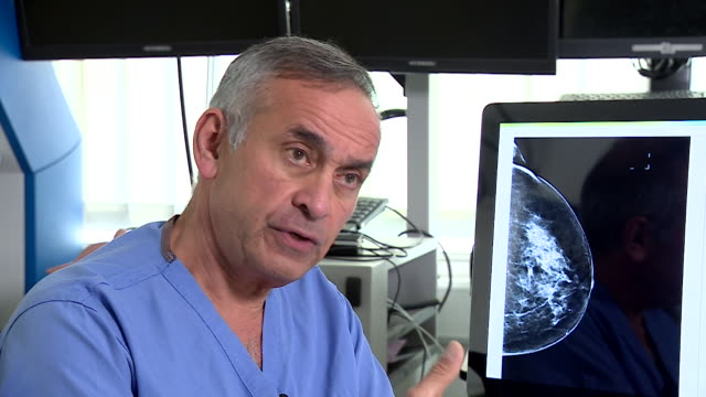 interview professor ara darzi director of cancer research uk about the use of artificial intelligence being used in spotting breast cancer in scans - medical x ray stock videos & royalty-free footage