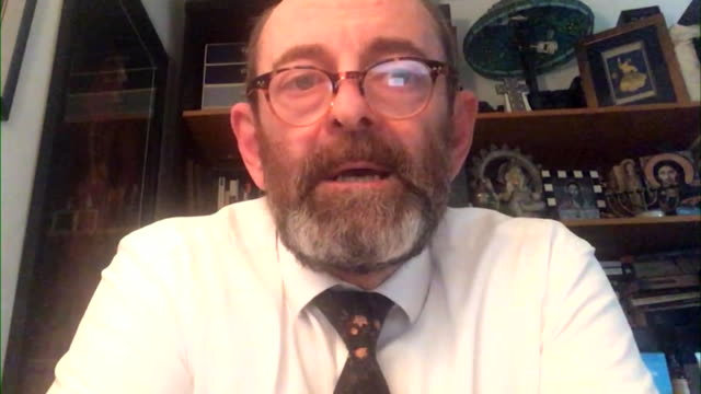 interview professor dominic harrison, blackburn public health, on why there has been a spike in coronavirus cases in blackburn and darwen, mainly... - asian and indian ethnicities stock videos & royalty-free footage