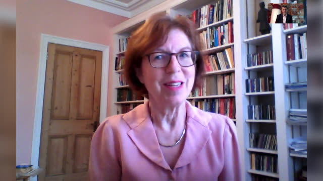 interview professor susan michie, sage, says it is irresponsible of the governement to open pubs and restaurants indoors so soon during coronavirus... - disrespect stock videos & royalty-free footage
