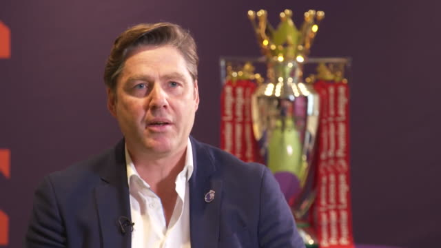 interview richard masters ceo premier league on how football clubs will incur losses as fans can't attend stadiums due to coronavirus social... - loss stock videos & royalty-free footage