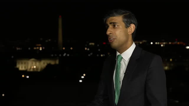 """interview rishi sunak, chancellor of the exchequer, about doing """"everything we can"""" to fix supply chain issues - finance and economy stock videos & royalty-free footage"""