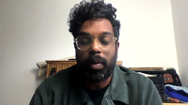 interview romesh ranganathan, comedian, about advert aiming to dispel myths about the covid-19 vaccine, especially amongst ethnic minorities and bame... - mystery stock videos & royalty-free footage