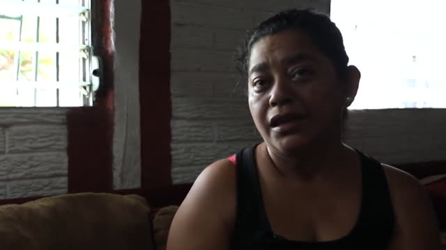 interview rosa ramirez whose son oscar died with his daughter valeria crossing the rio grande river at the mexican border into texas don't follow the... - sadness stock videos & royalty-free footage
