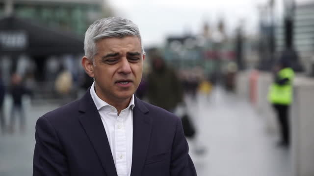 interview sadiq khan, london mayor, labour candidate, about how he intends to improve london after the coronavirus pandemic, if he wins the election - improvement stock videos & royalty-free footage