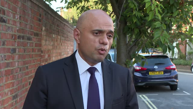 interview sajid javid, health secretary, about extra funding for nhs and commitment to plans on adult social care - dedication stock videos & royalty-free footage