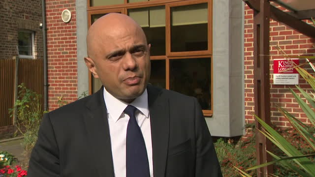 interview sajid javid, health secretary, about increased funding and support for gps in england, to allow more face to face appointments, which... - professional occupation stock videos & royalty-free footage