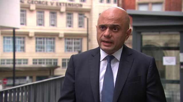 "interview sajid javid, health secretary, about nhs waiting lists post coronavirus pandemic lockdown - ""bbc news"" stock videos & royalty-free footage"