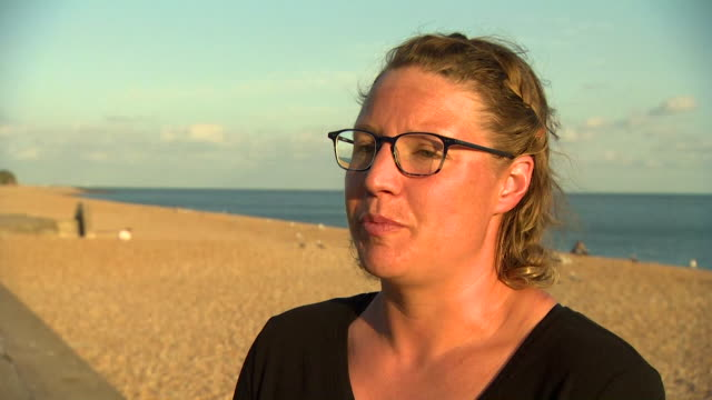 interview sarah thomas cancer survivor who has become the first person to swim across the english channel four times nonstop kent - english channel stock videos & royalty-free footage