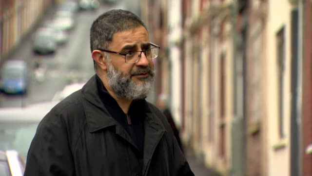 interview sayyed osman, blackburn council, about coronavirus infection rates rising in blackburn, especially amongst the asian community - asian and indian ethnicities stock videos & royalty-free footage