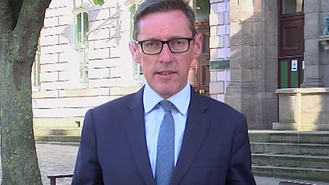 interview senator ian gorst, jersey's external relations minister, about france's threat to cut off jersey's electricity supplies over post brexit... - leisure activity stock videos & royalty-free footage