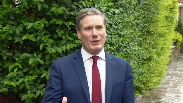 interview sir keir starmer mp labour leader about a plan for coming out of coronavirus lockdown i'm glad we will see a plan and we will look at it in... - document stock videos & royalty-free footage