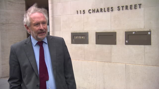 """interview sir peter soulsby, mayor of leicester, about leicester going back into lockdown due to surge in coronavirus cases """"if the virus is... - rathaus stock-videos und b-roll-filmmaterial"""