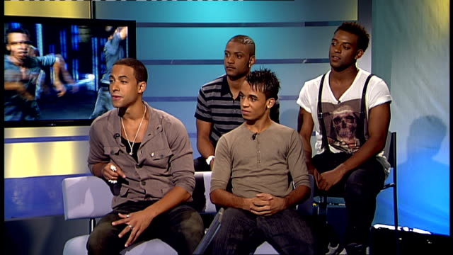 jls interview sot interview sot - boy band stock videos & royalty-free footage