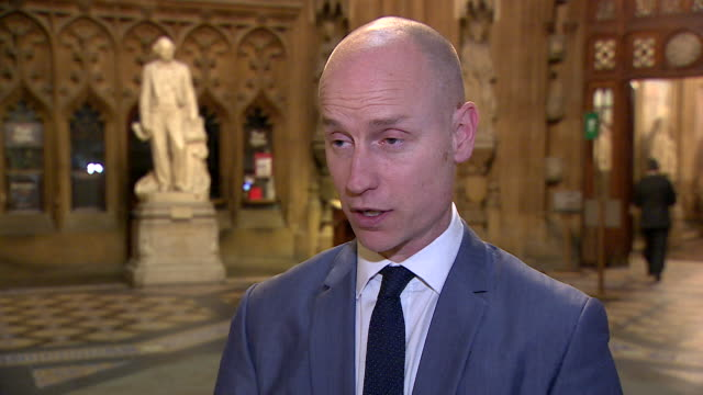 "interview stephen kinnock, labour mp, says about the possibility of a second brexit referendum ""i think it would be divisive and have a corrosive... - referendum stock videos & royalty-free footage"