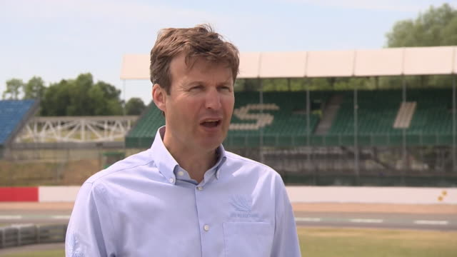 interview stuart pringle silverstone managing director about formula one coming back after coronavirus lockdown - real time stock videos & royalty-free footage