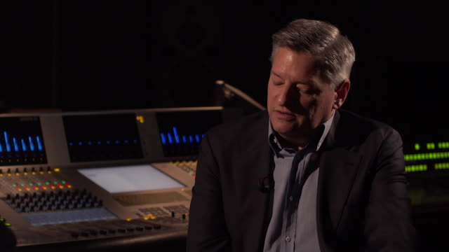 interview ted sarandos chief content officer netflix about netflix turning shepperton studios into one of its major production hubs - shepperton studios stock videos & royalty-free footage