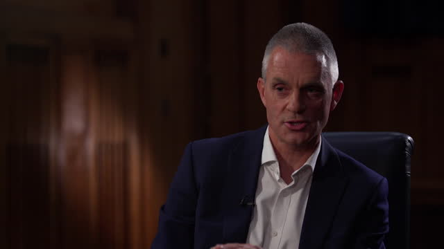 interview tim davie, bbc director general, about the lord dyson report into the panorama interview with princess diana in 1995 and the failings of... - 1995 stock videos & royalty-free footage