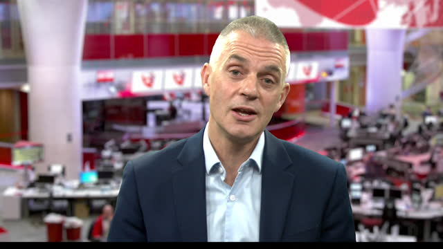 interview tim davie, bbc director general, about why the bbc rolled out more education resources on tv and digital platforms, to children during the... - the media stock videos & royalty-free footage